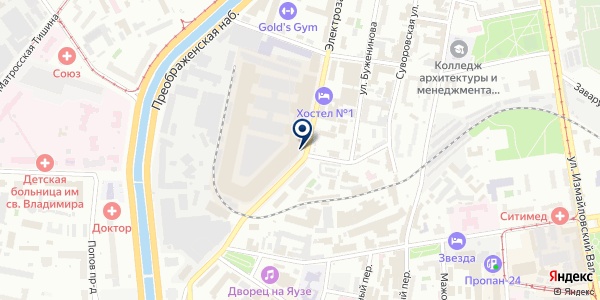 OBSCUR на карте Москве