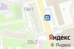 Схема проезда до компании Корона в Москве