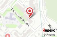 Схема проезда до компании Бв Дизайн-Строй в Москве