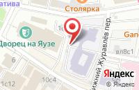 Схема проезда до компании Мегалит в Москве