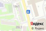 Схема проезда до компании Славиа в Москве