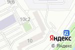 Схема проезда до компании Комфорт сервис в Москве