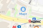 Схема проезда до компании Фонбет в Москве