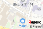 Схема проезда до компании Департамент здравоохранения г. Москвы в Москве