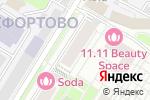 Схема проезда до компании Мособлпрофпроект в Москве