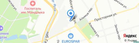№1 на карте Москвы