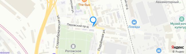 Перовский проезд