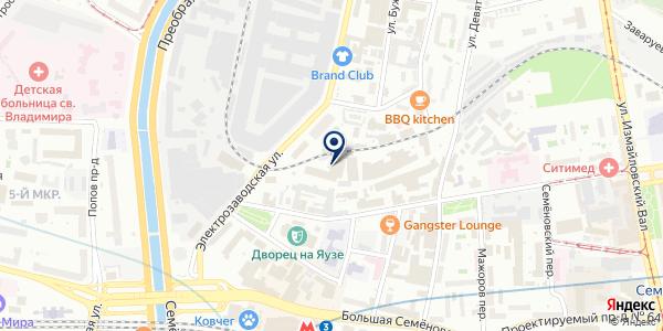Unicum на карте Москве