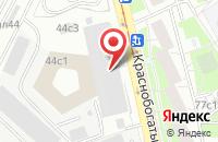 Схема проезда до компании Телеканал  в Москве