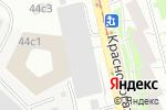 Схема проезда до компании Логос-ТВ в Москве