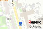 Схема проезда до компании ТЕХИНКОМ в Москве