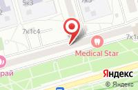 Схема проезда до компании Амил Трэйдинг в Москве