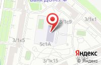 Схема проезда до компании Гор-Строй в Москве