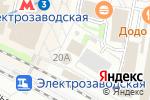 Схема проезда до компании Табакерка в Москве
