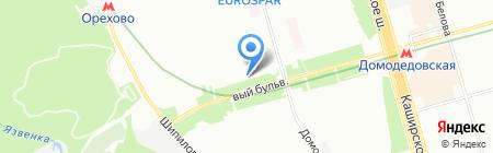 Полярный экспресс на карте Москвы