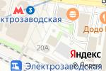 Схема проезда до компании Fika Coffee в Москве