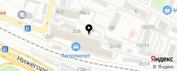 Евроглушитель на карте Москвы