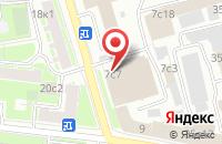 Схема проезда до компании Имморосиндастри в Москве