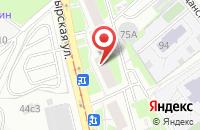 Схема проезда до компании Сити Лифт в Москве