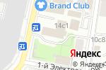 Схема проезда до компании ПРОГРЕССТЕХ в Москве