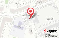 Схема проезда до компании Комплексные Системы Безопасности в Москве