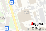 Схема проезда до компании Триколор ТВ в Москве