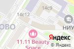 Схема проезда до компании Алазонта в Москве