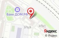 Схема проезда до компании Прессклубсервис в Москве