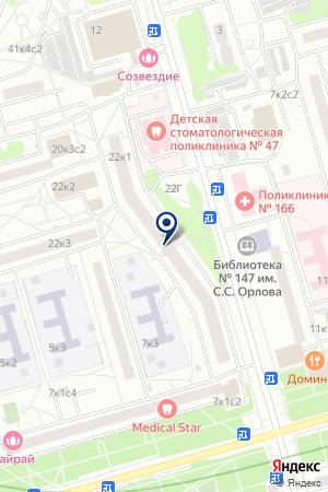 ТВОРЧЕСКИЙ КЛУБ ОРЕХОВО ТКС на карте Дедовска