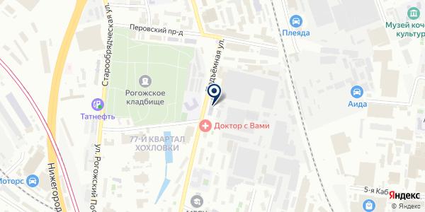 ТФ АЛВИЛС на карте Москве