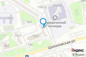 Комната в трехкомнатной квартире в Москве Шипиловская ул., 13
