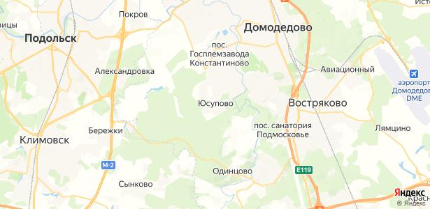 Юсупово на карте