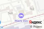Схема проезда до компании Артемида-КБ в Москве
