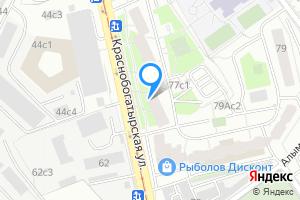 Сдается однокомнатная квартира в Москве м. Преображенская площадь, Краснобогатырская улица, 77