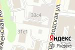 Схема проезда до компании Консалт Информ в Москве