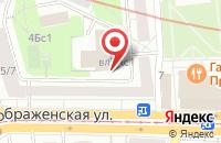 Схема проезда до компании Вестстрой в Москве