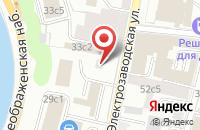 Схема проезда до компании Черметаллторг в Москве