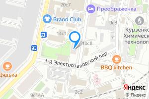 Сдается двухкомнатная квартира в Москве м. Электрозаводская, 1-й Электрозаводский переулок, 3