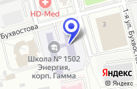 Схема проезда до компании ФАБРИКА МЕБЕЛИ в Москве