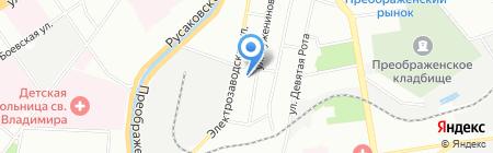 Финдер на карте Москвы