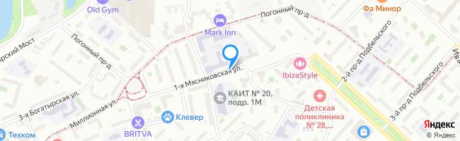 улица Мясниковская 1-я
