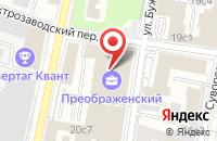 Схема проезда до компании Оларт в Москве