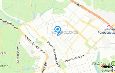 Местоположение на карте пункта техосмотра по адресу г Москва, ул 3-я Гражданская, д 35 стр 1