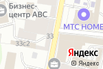 Схема проезда до компании Д.А. Консалт в Москве