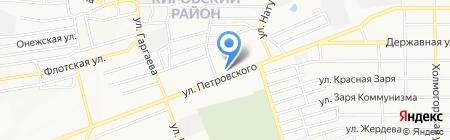 Икс на карте Донецка