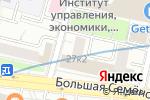 Схема проезда до компании Алькомп Европа в Москве