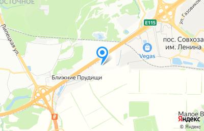 Местоположение на карте пункта техосмотра по адресу Московская обл, Ленинский р-н, п совхоза им. Ленина, км МКАД 26, влд 5 стр 3