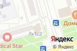 Схема проезда до компании Фарм+д в Москве