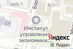 Схема проезда до компании Miracle в Москве