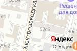 Схема проезда до компании Колибрис в Москве